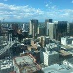 Views from the Hyatt Regency Denver