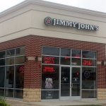 Front & entrance to Jimmy John's
