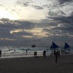 Boracay beach sunset