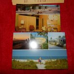 motel in 1960's and now, postcards