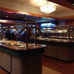 Buffet clean and stocked