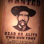 'Wanted' poster. Not sure about the year, 1769, though!