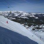 Skiing on Mammoth Mountain