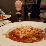 Li'l Butch loves La Cucina lasagna!