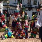 Gombey troupe