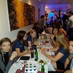 A busy Wednesday night in chillies. A night to remember.