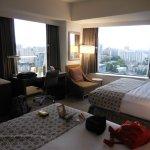 Corner room with 2 Queen bed
