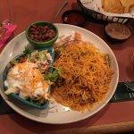 My dinner Pollo they Mazatlan signature dish😱