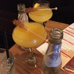 Mimosa with rock candy!!!