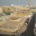 Overlooking the Dubai Museum...