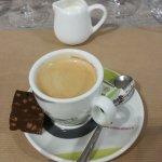 Un pétit café et chocolat au riz soufflet