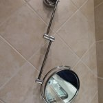 Shaving Mirror Not Fixed Properly To Wall