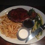 Slow roast steak