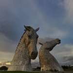 The Kelpies & The Helix Foto