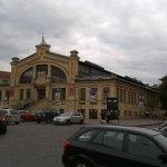 Markthalle neben dem Hotel