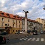 Uzupis  ( Jenseits des Flusses ) Stadtteil von Vilnius