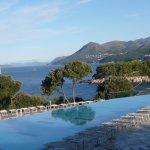 View over Argosy's pool