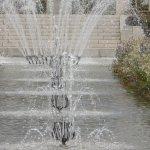 les jets d'eau