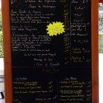 Les menus et la carte