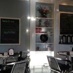 Interior cafe space