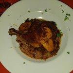 Jerk Chicken - delicious but needs more spice on chicken!