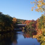 A short walk to this beautiful covered bridge