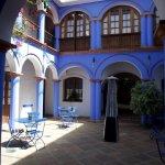 Blue Patio/Courtyard