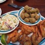 Generous delicious shrimp