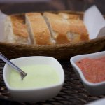 Bread with Salsas