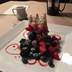 This napoleon was delicious. The fruit was so fresh.