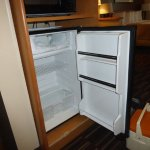Nice refrigerator, but freezer was frosted.