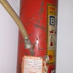 Expired fire extinguisher