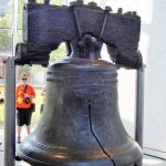 The Famous Liberty Bell,Philadephia's pride and joy