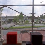 Across the road from the Higashi Hogon-ji Temple!