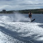One of the only outfits with waterskis!