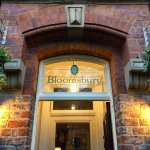 The Bloomsbury entrance