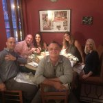 Fine Dinning with Friends and Family. The Bistecca alla Fiorentina per Due was superb.