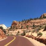 Foto de Zion Canyon Scenic Drive