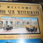 Big Sur Restaurant Foto