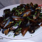 mussels :)