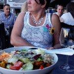 salade, frieten of aardappel als side dish inbegrepen