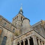 L'église abbatiale.