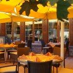 """Sommer-Terrasse Restaurant """"Schmitte"""""""