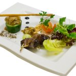 Gourmet-Menü Vorspeise