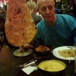 this is how big the Naan bread is :)
