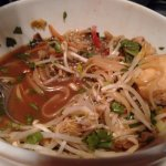Vietnamese noodles with tofu (gluten free meal)