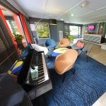 Espace détente - Lounge - Piano