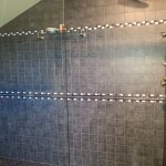 AMAZING shower with multiple levels of jets would fit 10!