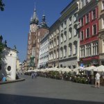 The Old Square in Krakow