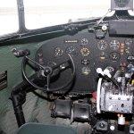 Cockpit of DC9